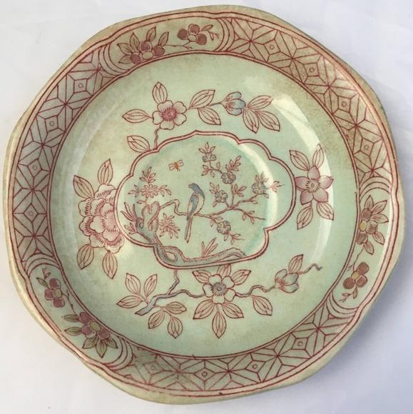 Vintage small dessert China plate
